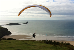 Dr Kate Baker interview: The GP paraglider
