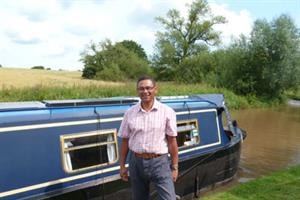 GP interview - Messing about on the river on a narrow boat