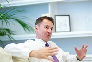 STPs subject to 'full consultation' with patients, says Jeremy Hunt