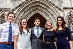 Junior doctors hopeful of contract victory as judicial review begins second day
