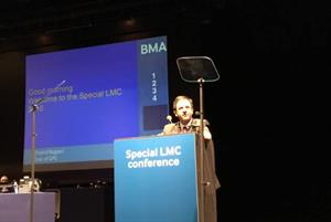 Special LMCs conference: General practice is in a state of emergency, GPC chairman warns