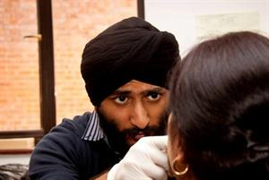 Sikh doctors deliver 10,000 free health checks
