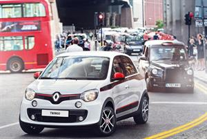 Renault Twingo is ideal for city driving