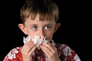 Managing epistaxis in children