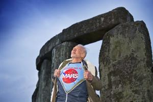 Buzz Aldrin is so over the moon