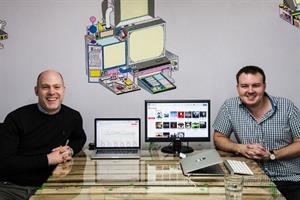 Disruptors: Iain Hagger and Alex Youngs, founders of CampaignAmp