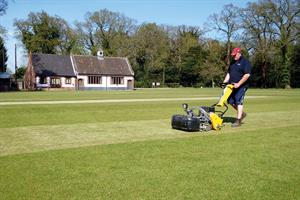 Kit for pitches - renewing turf after a damp spring