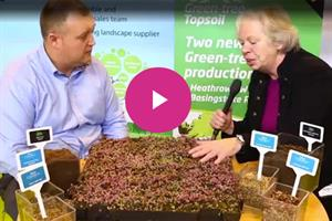 VIDEO - Sally Drury talks soils, seeds, sedum and more with Green-tech at Saltex 2016