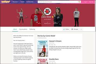 Digital campaign: Comic Relief targets millennials via Wattpad platform