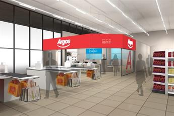 Argos to open digital stores within Sainsbury's