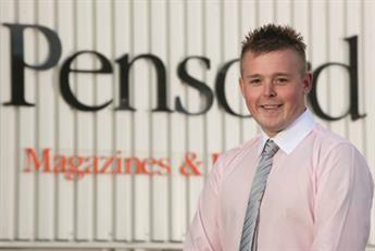 PrintWeek Awards 2012 Trainee of the Year - Thomas Dunn, Pensord
