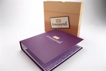Small firm aims to make big mark with presentation folders
