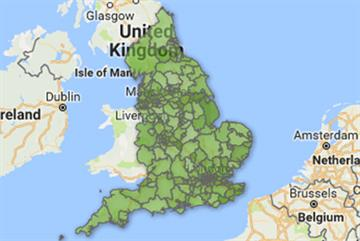 Map: GP workforce aged over 55 varies eight-fold across England
