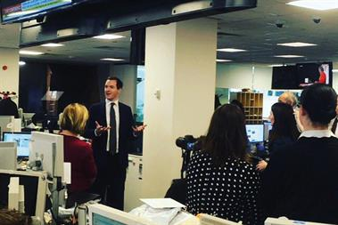 George Osborne: named editor of the London Evening Standard