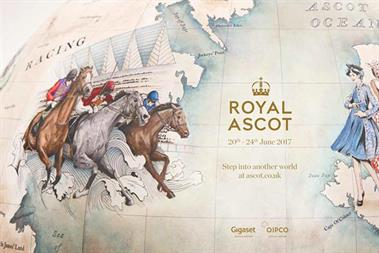 Bellerby & Co: the globe created by the company for Royal Ascot's heritage campaign