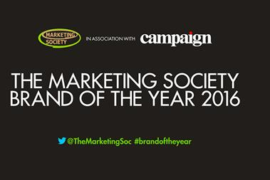 A week to go: Vote now for The Marketing Society's Brand of the Year 2016