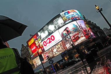 Watch: Piccadilly Lights switch off for months of redevelopment