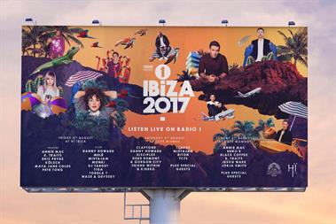 "BBC Radio 1 ""Ibiza weekend"" by Mother Design"