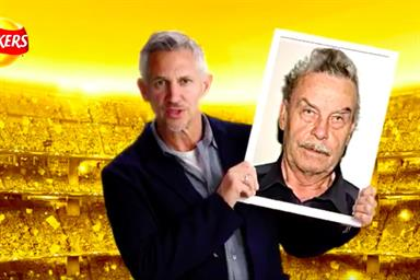 Walkers Crisps social ad backfires as Lineker snapped with Fred West and Rolf Harris