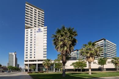 Hilton Diagonal Mar Barcelona tops the list