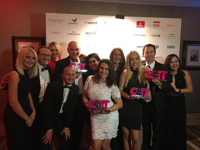 Rapport steals limelight at biggest ever C&IT Awards