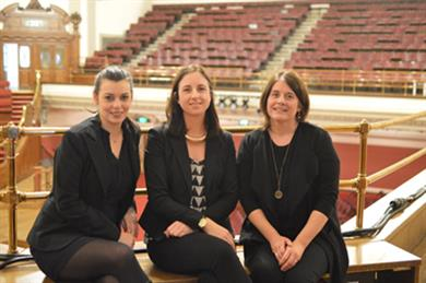 Central Hall staff