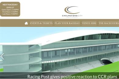 Chelmsford Racecourse website