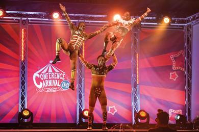 Holland & Barrett's Conference Carnival