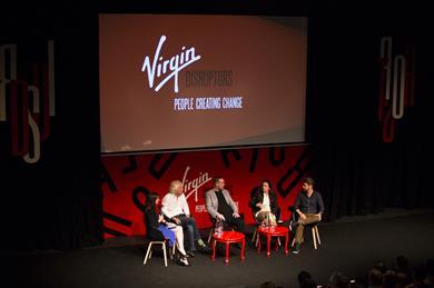 Virgin Disruptors conference