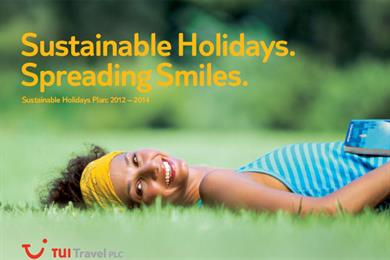 TUI Travel commits to 'greener' holidays