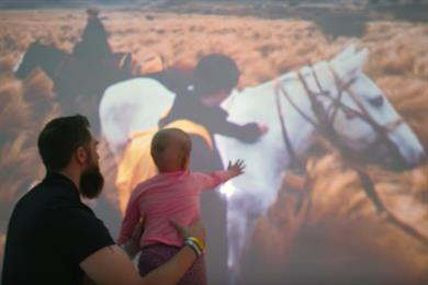 Expedia takes girl with cancer on dream virtual journey to Argentine Pampas