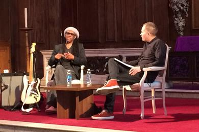 The gospel according to Nile Rodgers: Don't be authentic, 'pretend to be French'