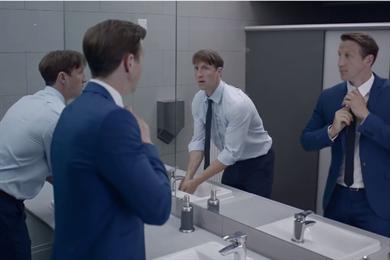 Nivea riffs on Dostoevsky's 'The Double' in moisturiser ad