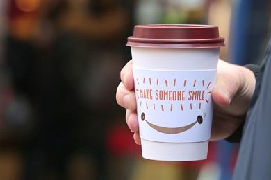 Pret a Manger puts altruistic twist on coffee giveaway