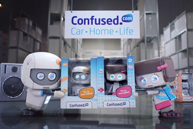 Confused.com adds two new toys to join Brian the Robot