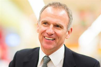 Tesco boss Dave Lewis hails end of crisis as sales grow for first time in three years