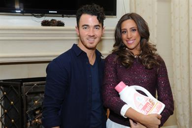 P&G's Dreft sponsors birth of Jonas Brothers singer's daughter