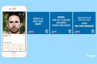 Dating app Happn and Plan UK shine a light on child marriage