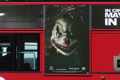 Poltergeist clown ads escape ban despite over 70 complaints
