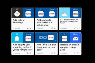 Tesco trials Amazon Dash-style automatic grocery reordering