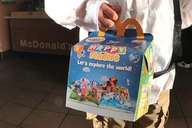 McDonald's serves up 22 million books for kids