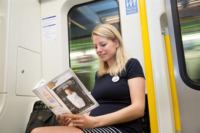 Notonthehighstreet sponsors London Underground 'baby on board' badge