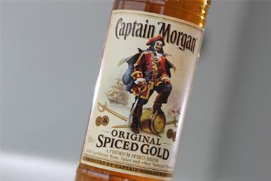 Diageo hits out at Captain Morgan ad ban