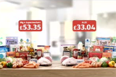 Aldi rapped by ASA for misleading price comparison ads