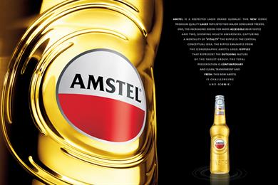 Adam & Eve/DDB wins Amstel UK advertising