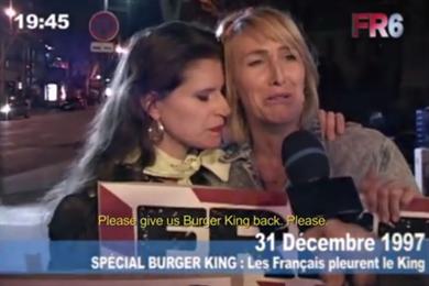 Burger King tells dark tale of when it left France in documentary
