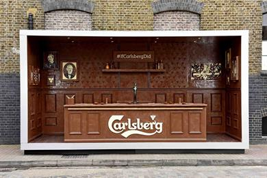 Carlsberg creates chocolate bar for Easter