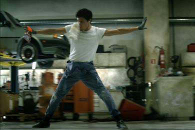 Cillit Bang's first global campaign features Flashdance tune and Madonna dancer
