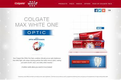 Colgate toothpaste ad not quite whiter than white, says ASA