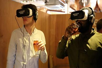 Brew with a view: craft beer maker Innis & Gunn unveils VR campaign